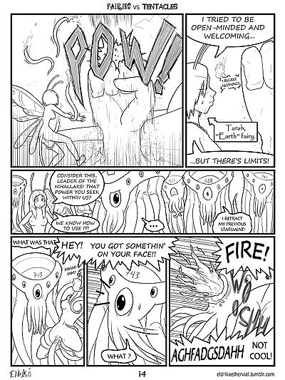 Fairies vs Tentacles Ch. 1-3