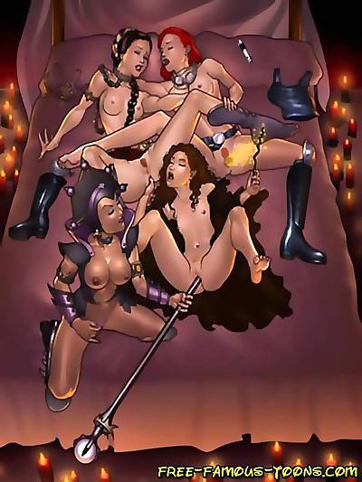 Star wars lesbian orgy -..
