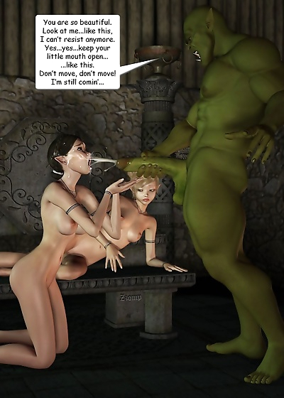 Two sexy elf gets hard..