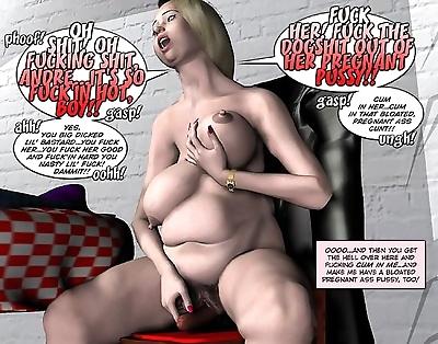 脂肪 奇妙な 妊娠 orgy..