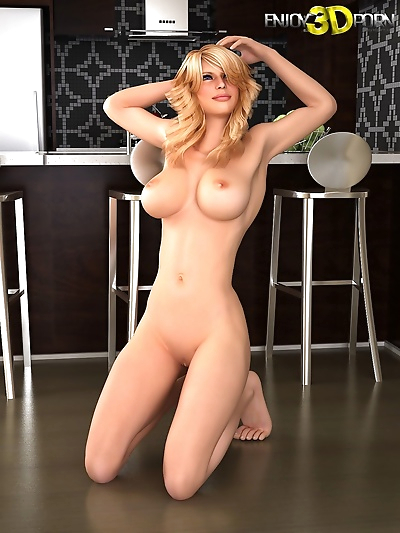 Super hot blonde loses her..