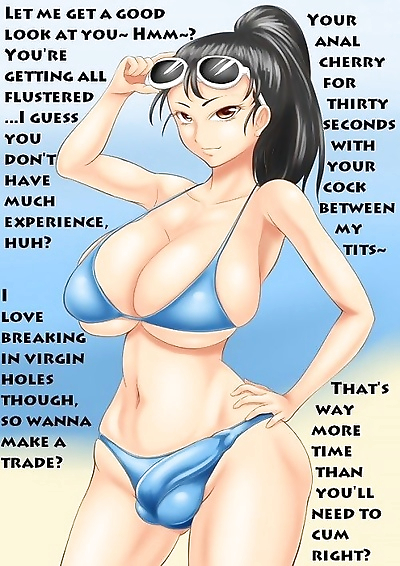 Bikini shemale comics - part..