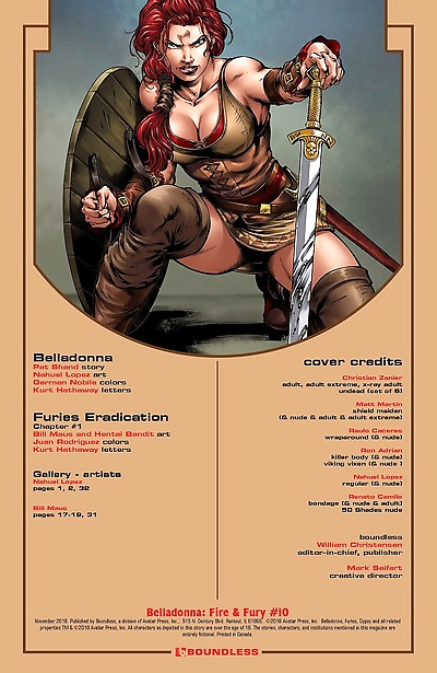Belladonna- Fire and Fury #10