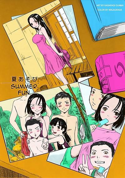 Hentai- Summer Fun- Kisaragi..